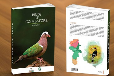 birds of coimbatore, young indians, Yi, Coimbatore Nature Society, Field guide,
