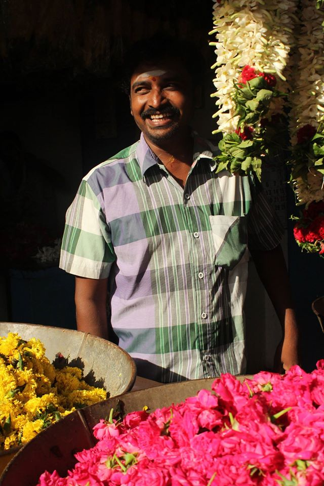 poo market, flower market, pollachi, pollachi papyrus, places to visit, places of attraction,