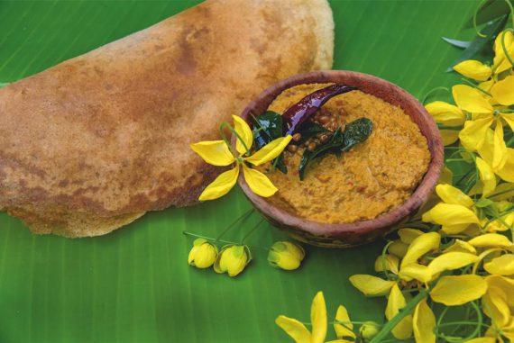 Konnapoo Chutney, cassia fistula, cuisine, recipe, pollachi, pollachi papyrus, summer dishes, local cuisine